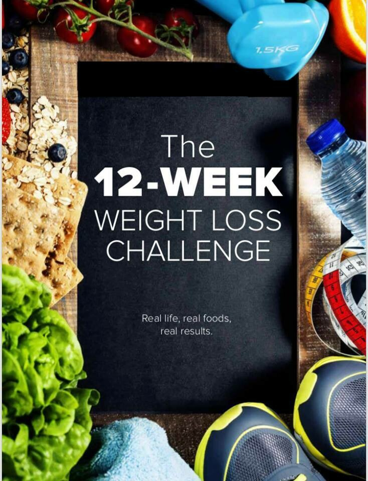 The 12 Week Challenge: Weight Loss Guide