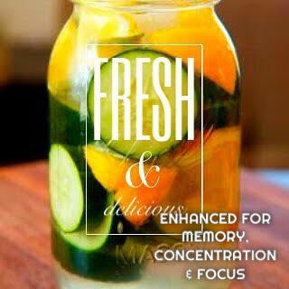 The Re-Boot Energy Blend Infused Detox Tonic (GAL)