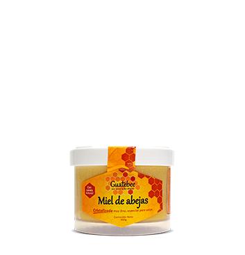 Miel de Abeja Cristalizada con Canela Guatebee® - 300 g