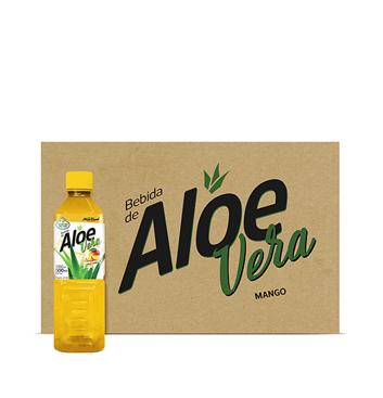 Caja de Aloe Vera Selección del Chef® Mango - 24x500ml