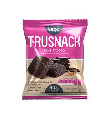 Snack Vegano TRUSNACK® Sabor a Cocoa Pura - 120 g