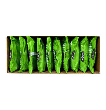 Caja de Snack Vegano TRUSNACK® sabor a Limón Jengibre 10x120g