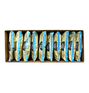 Caja de Snack Vegano TRUSNACK® sabor a Vainilla Canela 10x120g