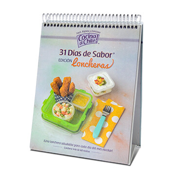 Libro 31 días de Sabor Edición Loncheras – Cocina al chile