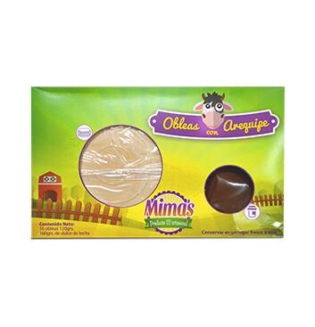 Obleas con Dulce de Leche Mimas® - 280g