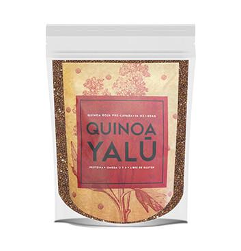 Quinoa Roja prelavada - 1 Libra