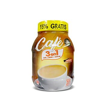 Café Instantáneo Carmoli® 3 en 1 - 529g