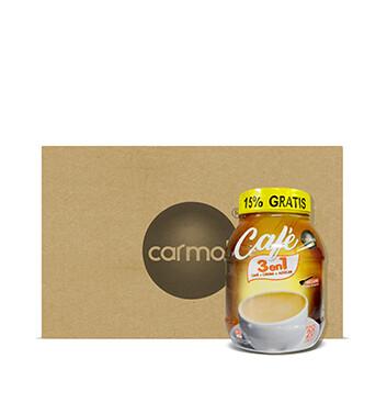 Caja de Café Instantáneo Carmoli®  3 en 1 - 16x529g