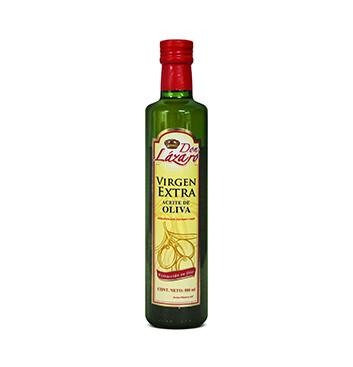 Aceite de Oliva Extra Virgen Don Lázaro® - 500 ml