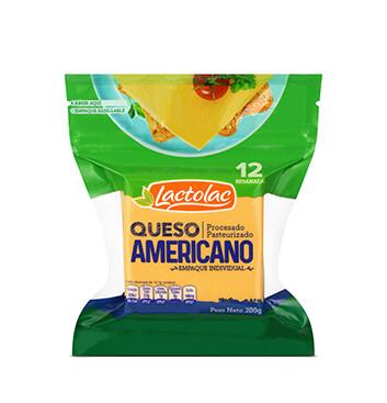 Queso Amarillo Rodajado Lactolac® - 200g