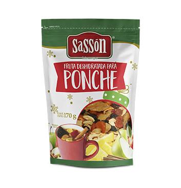 Frutas para Ponche Deshidratadas Sasson® - 170g