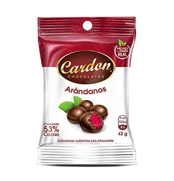 Arándanos con Chocolate Cardon - 43 g