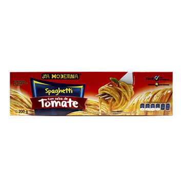 Spaghetti Salsa de TomateLa Moderna® - 200g