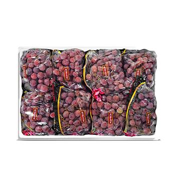 Caja de Uva Red Globe con semillas - 18 Libras