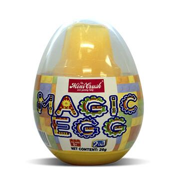 Magic Egg + 1 Lego Toy - Unidad