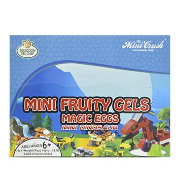 Display Magic Egg - 12 Un + 1 Lego Toy - Sabores Surtidos