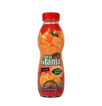 Jugo de Naranja con Pulpa De La Granja® - 235ml
