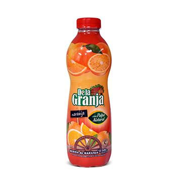 Jugo de Naranja con Pulpa De La Granja® - 500ml