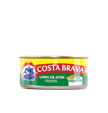 Lomo de Atún en Trozos con Vegetales Costa Brava® - 150 g