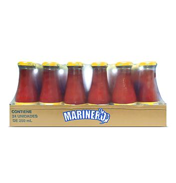 Caja de Jugos de Vegetales Marinero® Picante - 24x250 ml
