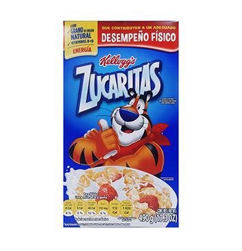 Fardo de Cereal Zucaritas Kellogg's® - 21x490g