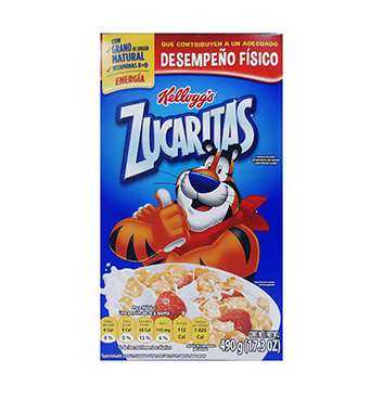 Caja de Cereal Zucaritas Kellogg's® - 490g