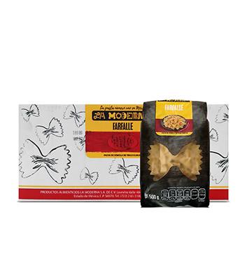 Caja de Farfalle La Moderna® - 10x500g