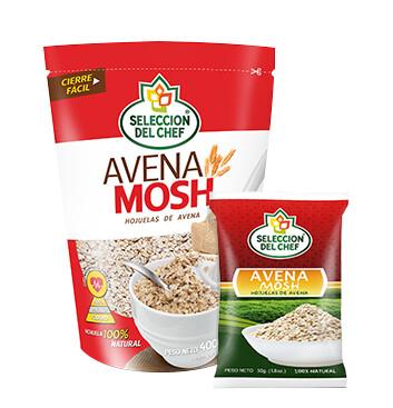 Avena Mosh Selección del Chef® - 400g + 50g