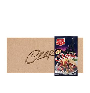 Caja con Harina de Trigo para Crepas La Moderna® - 12x300g