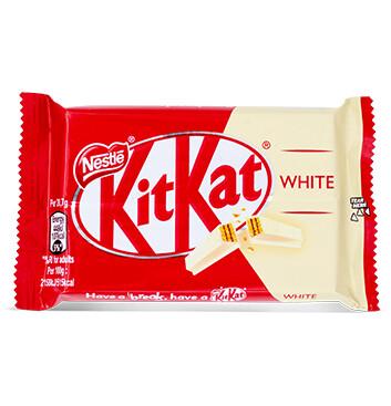 Chocolate Blanco - 4 dedos - KIT KAT® - 41.5g