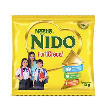 Nido® Forticrece® - Leche Entera Instantánea  para Niños - Bolsa 110g