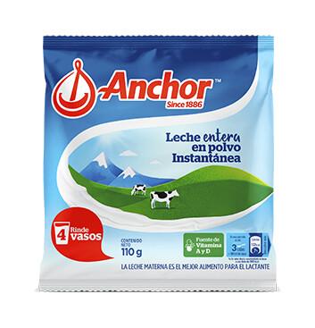 Anchor® Leche en Polvo Instantánea - Bolsa 110g