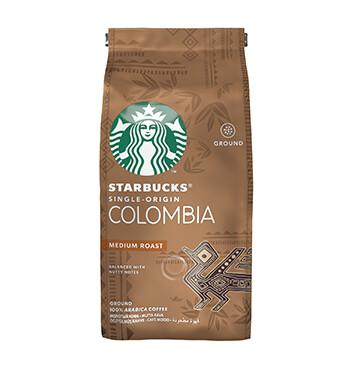 Starbucks® Colombia - Tueste Medio - Café Tostado y Molido - Bolsa 250g