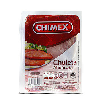 Chuleta ahumada - Chimex - 570g