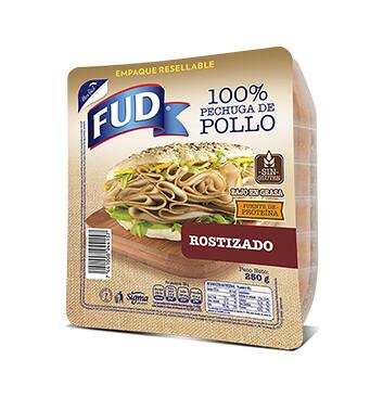 Pechuga de pollo - Fud - 250g - Sabor Rostizado