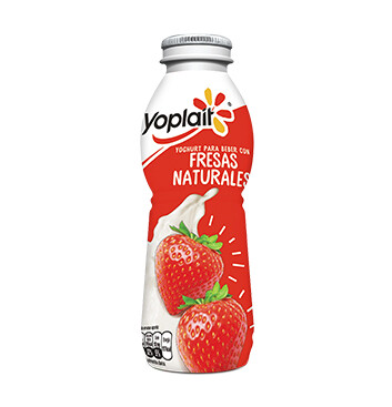 Yogurt líquido Yoplait® Sabor Fresa - 242g