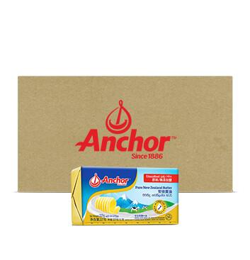 Caja Mantequilla Sin Sal  - Anchor -  40 Unidades - 227g