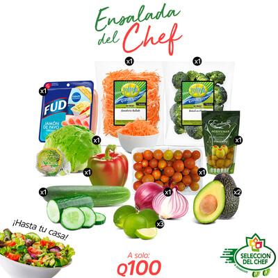 Pack Ensalada del Chef