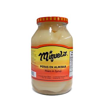Pera en Almíbar Miguel's® - 32 oz