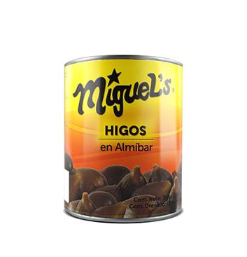 Higos enteros en almibar - Miguels - 30oz/lata