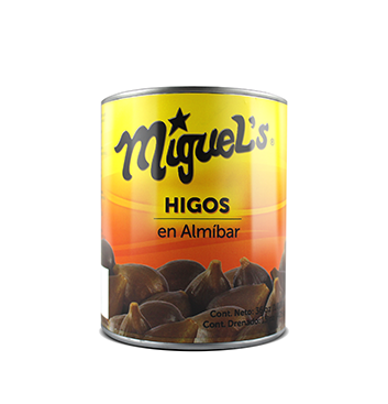 Higos enteros en Almíbar Miguel's® - 36 oz