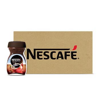 Caja Nescafé - Clásico - 12 Un - 60g/Frasco