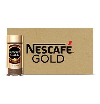 Caja Nescafé - Gold - 12 Un - 100g