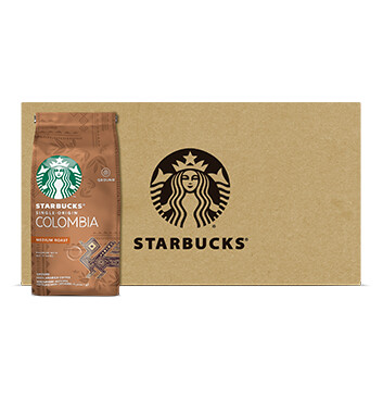 Caja Café Colombia - Medium - Starbucks - 12 Un - 250g