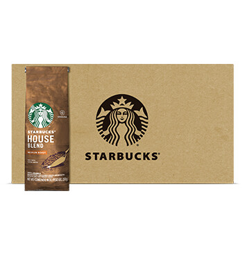 Caja Café House Blend - Medium - Starbucks - 12 Un - 250g