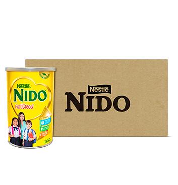 Caja Leche en polvo - Nido - 6 Un - 2200g/lata
