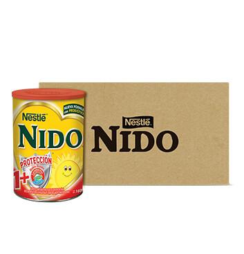 Caja Lata de Leche instantánea - NIDO 1 - 6 Un - 1.6kg