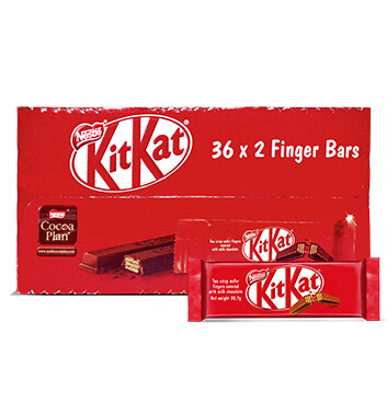 Caja Chocolate  - 2 dedos - KIT KAT - 16X36 - 20.7g