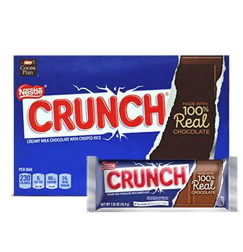 Caja Chocolate - Crunch Single - 10X36 -1.55oz