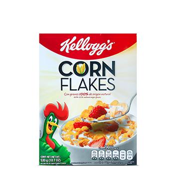 Caja de Cereal Corn Flakes Kellogg's® - 530g